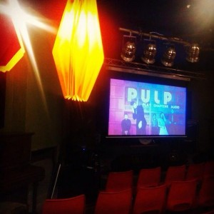 Pulp screening Glad Cafe Oct 2014