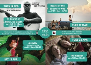 film club flyer spring 13