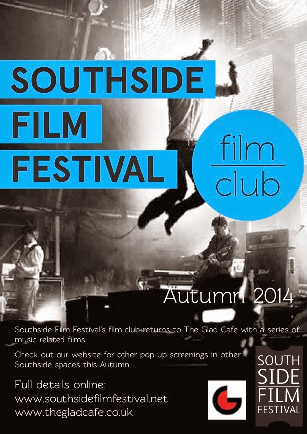 front cover autumn film club flyer