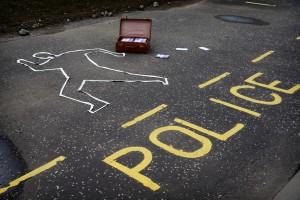 Photography exhibition Crime-scene-photo credit alan-taylor