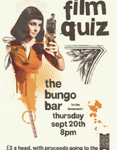 Film Quiz Fundraiser, Thurs 20 Sept